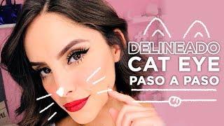 DELINEADO CAT EYE EN 3 SENCILLOS PASOS   Muakk.com