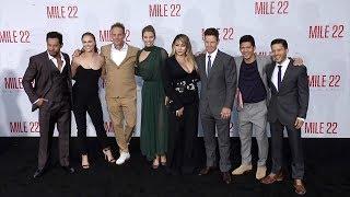 """""""Mile 22"""" World Premiere Main Cast Arrivals   Kholo.pk"""