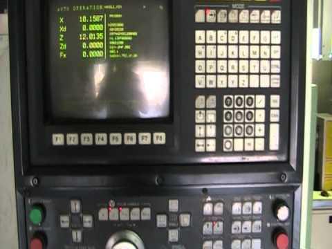 OKUMA LB-25C CNC TURNING CENTER LATHE - смотреть онлайн на