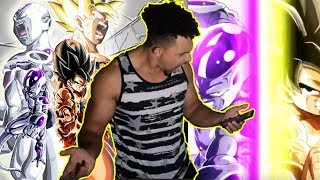 I WAS NOT EXPECTING THIS LEVEL OF FIRE!!! LR GOKU & FRIEZA SUPER ATTACK | #REACTION