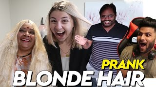 My Indian Mothers Blonde Hair Prank On Family *Papa Didnt Like It!*