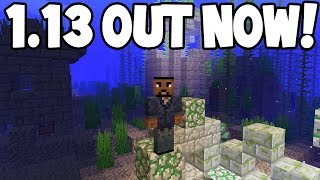 Minecraft 1.13 Update Aquatic - OUT NOW! - All Features/Changelog
