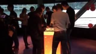 Mash Machine voor Google op een evenement