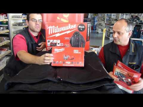 Milwaukee Thermo-Jacke M12HJ-201 und M12HH-201