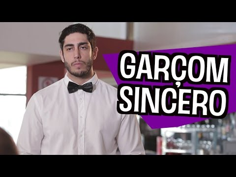 Garçom Sincero - DESCONFINADOS