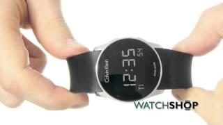 Calvin Klein Mens Future Alarm Watch (K5B23TD1)