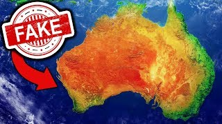 it turns out AUSTRALIA IS FAKE?