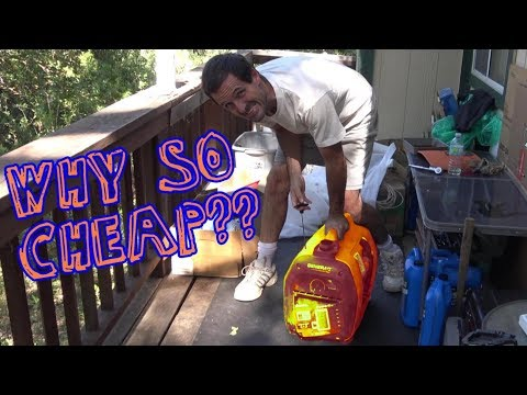 $25 Generator From Lowes - Will It Run?