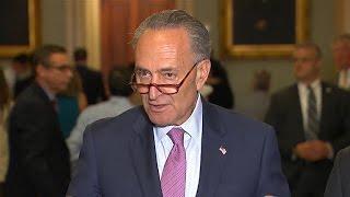 Full video: Senate Democrats react to health care vote delay