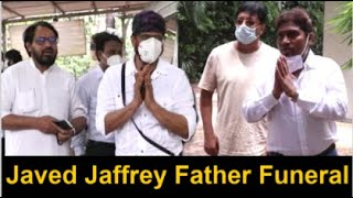 Bollywood Celebs ARRIVE At Javed Jaffrey FATHER Jagdeep Last Rites Full Video