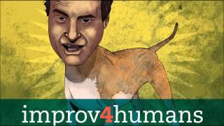 Improv4Humans - Eric the Unpaid Intern and Matt Besser on Throwing Up