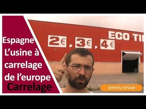 ESPAGNE, LE CARRELAGE A PRIX DISCOUNT!!