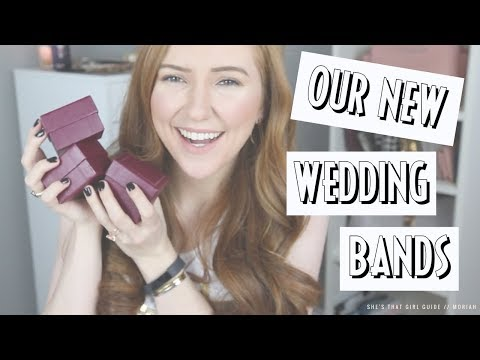 OUR WEDDING BAND REVEAL | Moriah Robinson