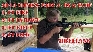 AR-15 Clinics Part 3 Troubleshooting the AR15: Diagnosis & Treatment of AR-15 Failures (FTE, FTF)