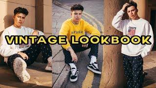 VINTAGE LOOKBOOK MENS FASHION 2018