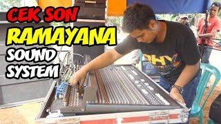 Download Video FULL CEK SOUND RAMAYANA SAMPAI JADI - RAMAYANA CHECK SOUND - CREW RAMAYANA SOUND SYSTEM MP3 3GP MP4
