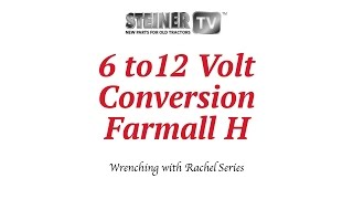 6 to 12 volt on farmall youtube 1941 Farmall a Wiring Harness 6 Volt Diagram