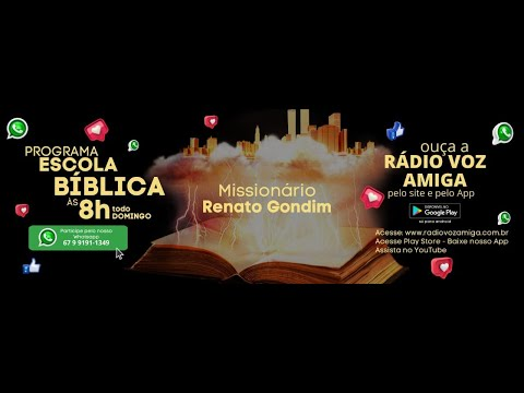 Escola Bíblica - Apresentação Renato Gondim