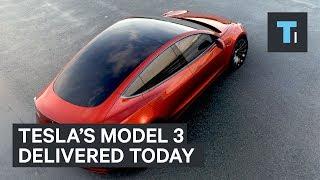 The Tesla Model 3 is finally here