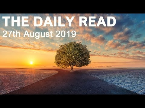 """THE DAILY READ  """"NEW BEGINNINGS AHEAD! DON'T LOOK BACK""""  August 27th 2019 - Daily Tarot"""