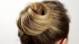 Как сделать прическу пучок узлом. Beam Hairstyle As Node