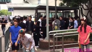 [HD Fancam] 150911 Up10Tion Music Bank 업텐션 여장 ㅋㅋ 뮤직뱅크 직캠