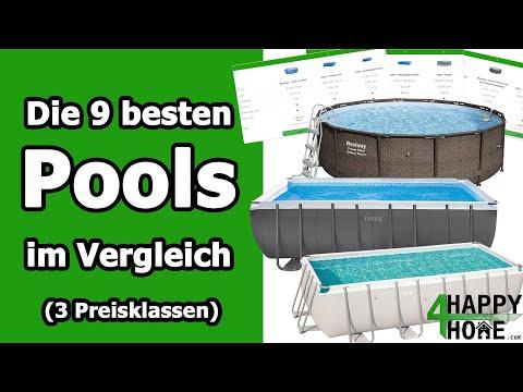 Pool kaufen 2019 ➡️ Die 9 besten Pools für den Garten im Vergleich [3 Preisklassen] Intex | Bestway