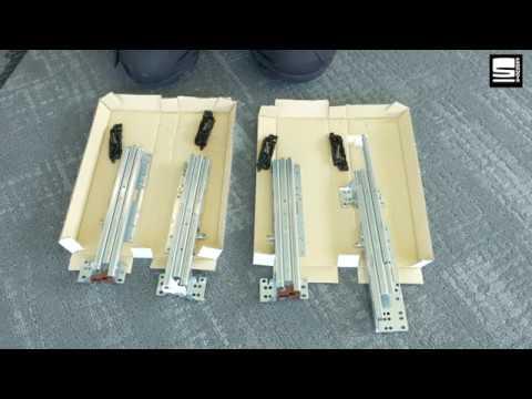 SWAN Slide & Go Interieur Hettich mappenframe met uittrekbeveiliging