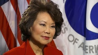 Elain Chao discusses infrastructure plans under the Trump administration