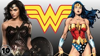 Top 10 Wonder Woman Surprising Facts