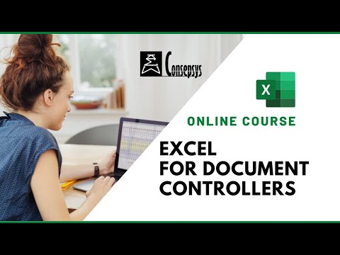 Excel Courses for Document Control Professionals - YouTube