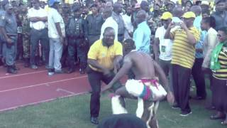 Cyril Ramaphosa dancing Xigubu