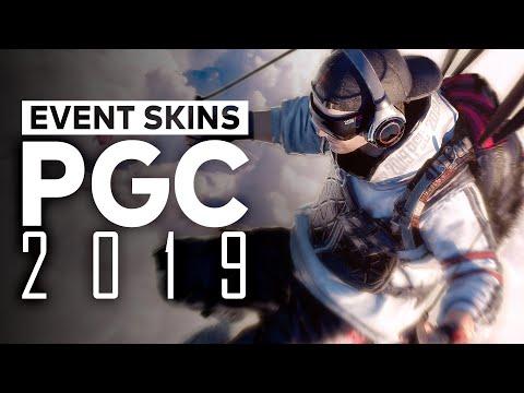 PUBG Global Championship Event Skins 2019