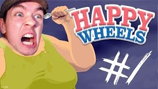 Happy Wheels - Part 1 | THIS GAME IS MY BITCH