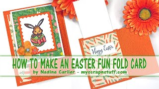 How To Make A Fun Fold Easter Card