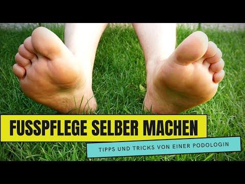 Fußpflege Anleitung / Fußpflege selber machen
