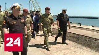Новое соединение Росгвардии обеспечит безопасность в Крыму - Россия 24
