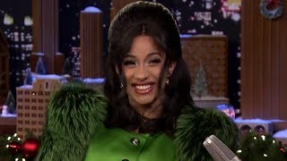 Cardi B EXPLAINS Her Name & Fallon Can't Contain His Laughter In Interview