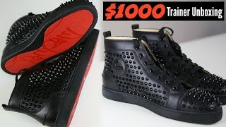 Christian Louboutin $1000 Dollar Trainers Unboxing - Mens Fashion 2020