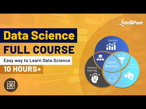 Data Science Course | Data Science Courses | Intellipaat - YouTube