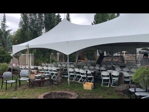 Lots of Country Wedding Setups