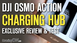 DJI Osmo Action Multi-Battery Charging Hub - Exclusive Review & Test