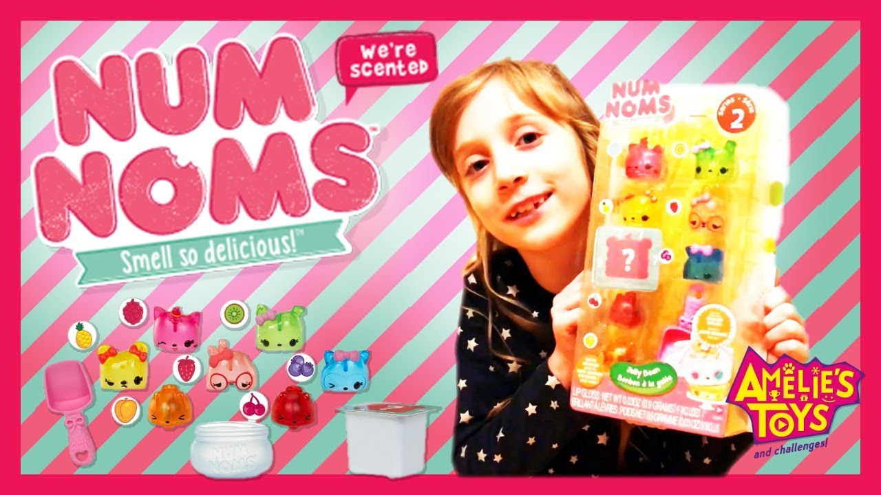 Num Noms Series 2 Jelly Beans Deluxe Set