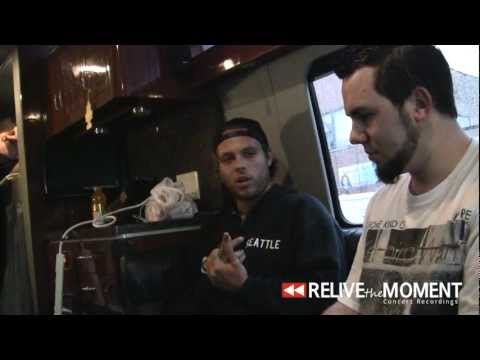 2012.08.13 Interview with Jesse Barnett from Stick To Your Guns (Live in Chicago, IL)