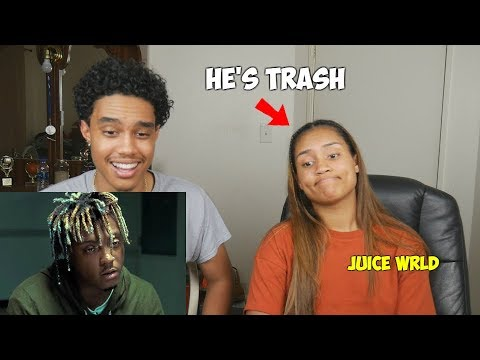 """Juice WRLD's Biggest HATER"" Juice WRLD - Lean Wit Me - SISTER REACTS (Hilarious)"