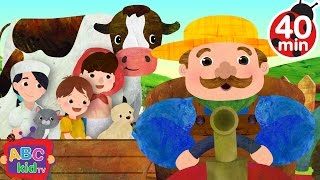 Farmer in the Dell (2D) | +More Nursery Rhymes & Kids Songs - Cocomelon (ABCkidTV)