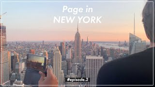 [Travel Vlog] Page 뉴욕 브이로그 02 | New York travel vlog