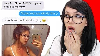 FUNNIEST TEXT MESSAGES FROM FINALS WEEK