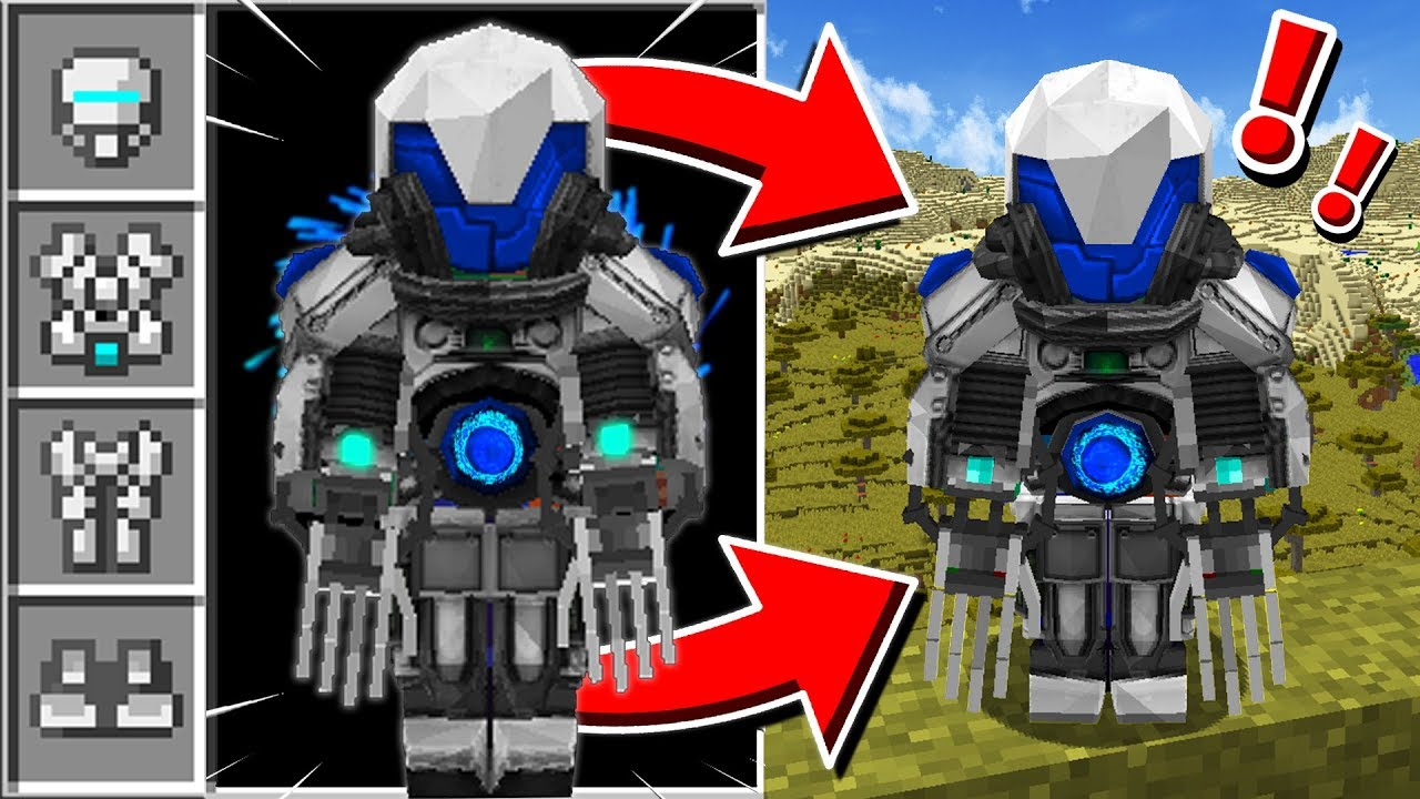 THE ULTIMATE MINECRAFT ARMOR! - YouTube