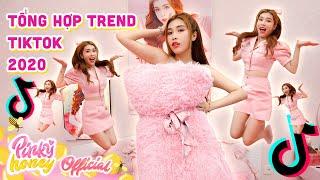 TỔNG HỢP CÁC TREND TIKTOK 2020   Pinky Làm Trend Bay Nhảy Mệt Xỉu   PINKY HONEY